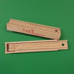 Scatola matite lunghe