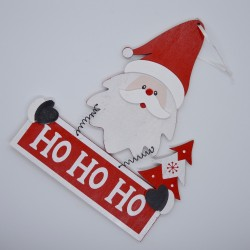 """Decorazione Babbo Natale """"Oh Oh Oh"""""""
