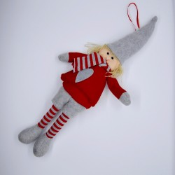 Bambolina di Natale