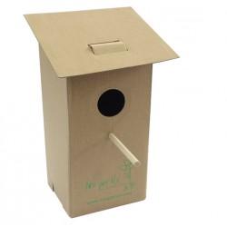 Casetta per uccelli in cartone