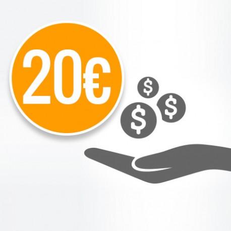 Donazione 20€