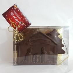 Presepe di cioccolato
