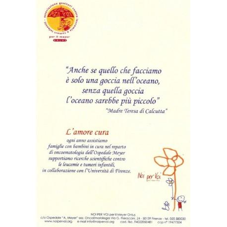 Pergamena Madre Teresa Noi Per Voi Odv